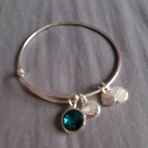 Alex and Ani bracelet December birthstone